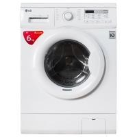 LG WD-N12435D 6公斤直驱DD变频滚筒洗衣机 44CM超薄 智能手洗模式 高温洗涤 (白色)