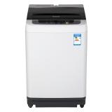 松下(Panasonic)7.5公斤全自动波轮洗衣机 松下品质 大容量 智能控制 高效节能(灰色)XQB75-Q77201
