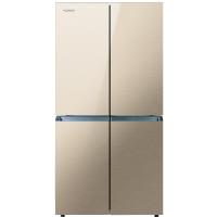 康佳(KONKA)401升 多门冰箱 十字对开冰箱 实用四门(金色玻璃)BCD-401BX4S