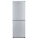创维(Skyworth)BCD-160 160升双门冰箱 金属无痕面板 快速冷冻 节能实用型冰箱(炫银)