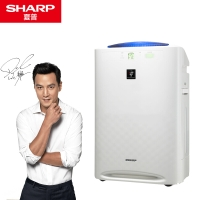 夏普(SHARP) 空气净化器 KC-WE20-W 除雾霾PM2.5除甲醛净离子群杀菌加湿(备案型号:KJFWE190A/W)