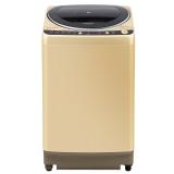 松下(Panasonic)8公斤变频大容量全自动波轮洗衣机 节能导航 烘干一体(香槟金)XQB80-GD8236