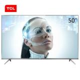 TCL 50A730U 50英寸30核人工智能 纤薄金属机身HDR4K液晶电视机(锖色)