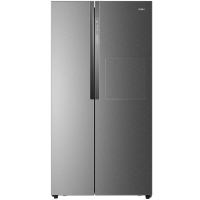海尔(Haier)BCD-581WBPN 581升变频风冷无霜对开门冰箱 一级节能省电 时尚吧台