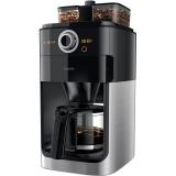 飛利浦(PHILIPS)咖啡機 家用全自動雙豆槽帶研磨預約功能 HD7762/00