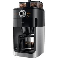飞利浦(PHILIPS)咖啡机 家用全自动双豆槽带研磨预约功能 HD7762/00