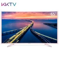 KKTV U65Q 65英寸曲面4K超高清36核HDR MEMC智能液晶电视机金属旗舰版 康佳出品 玫瑰金
