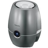 飞利浦(PHILIPS)加湿器 4L大容量 上加水 纳米无雾带除菌盒 静音办公室卧室家用加湿 HU4903/02暗金属银色