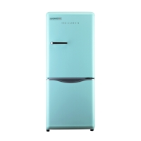大宇(DAEWOO)ODF-M300M 150L 经典复古迷你小型双门电冰箱 家用无霜 冷藏保鲜 薄荷绿色