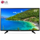 LG 49LG61CH-CK绚彩 49英寸 4K超高清 IPS硬屏HDR 智能超薄平板液晶电视机(黑色)
