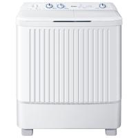 海尔(Haier)XPB80-187BS 家家爱 8公斤半自动双缸洗衣机  全塑外观  搅拌波轮