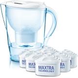 碧然德(BRITA)过滤净水器 家用滤水壶 净水壶 Marella 金典系列 3.5L(白色)一壶六芯装