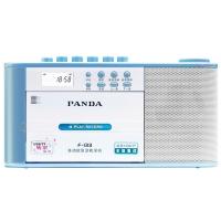 熊猫(PANDA)F-133 复读机 收录机 U盘磁带复读机 MP3录音机 转录机 插卡学习机(蓝色)