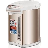 美的(Midea)电热水瓶PF701-50T 304不锈钢电水壶 5L容量 4段温控电热水壶 双层彩钢烧水壶