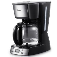 东菱(Donlim)DL-KF400 黑色滴漏式咖啡机 智能保温2小时