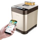 东菱(Donlim)面包机 全自动撒料和面 京东微联APP控制 DL-2401W