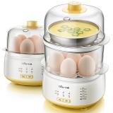小熊(Bear)煮蛋器双层预约定时家用多功能蒸蛋器ZDQ-C14E1