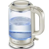 小熊(Bear)电水壶ZDH-A15G2 304不锈钢1.5L高硼硅玻璃电热水壶