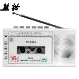 熊猫(PANDA)6503 便携式收录机 录音机 磁带转录机 USB插口MP3播放机 播放器插卡音响(白色)