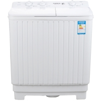 康佳(KONKA)7公斤 半自动洗衣机 双缸(白色)XPB70-712S