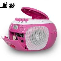 熊猫(PANDA) CD-350收录机 CD机胎教 DVD复读机 录音机 磁带U盘播放机 音响(红色)