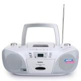 瑪士特(MATESTAR) DVR58 全能復讀DVD便攜式播放機 迷你音響(白色)