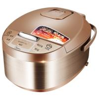 美的(Midea)电饭煲 金属拉丝机身 智能预约 黄晶内胆5L电饭锅MB-WRD5031A