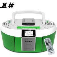 熊猫(PANDA)CD-820 CD机 收录机 复读机 DVD播放机 胎教机 录音机 收音机 插卡MP3收录机音响(绿色)