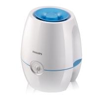 飞利浦(PHILIPS)加湿器 4L大容量 上加水 纳米无雾 静音办公室卧室家用加湿 HU4901/00(亮白色+蓝色)