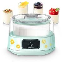 志高(CHIGO)酸奶机家用全自动恒温发酵加厚玻璃内胆SNJ313 配4密封玻璃分杯