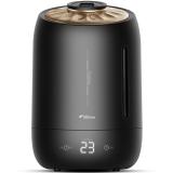 德尔玛(Deerma)加湿器 5L大容量 触控感温 静音迷你办公室卧室家用香薰加湿 DEM-F600(珍珠黑)