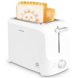 北欧欧慕(nathome)烤面包机家用多士炉吐司机 NDS680 白色