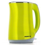 奔腾(POVOS)电水壶1.7L双层保温食品级304不锈钢S1756
