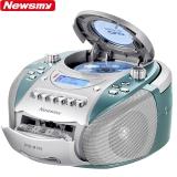 纽曼(Newsmy)DVD-M100蓝色 英语学习机CD机磁带机复读机录音机卡带机DVD播放机胎教机收录机教学机U盘插卡手提音响