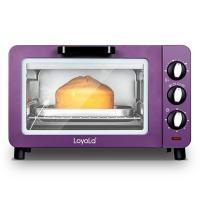 忠臣(loyola)电烤箱小15L家用多功能嵌入式时尚紫LO-15X