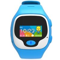 优彼(ubbie)早教故事电话手表 学生360度安全定位微聊通话手环3岁以上儿童手表 蓝色