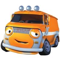 优彼(ubbie)欧力合金车模 小汽车玩具 0-6岁儿童玩具 动漫模型 巴萨