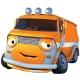 优彼(ubbie)欧力合金车模 小汽车玩具 3岁以上儿童玩具 动漫模型 巴萨