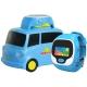 优彼(ubbie)早教故事魔法手表 小车版 移动充电外扩音箱小车底座+能学习通话定位的3岁以上儿童电话手表 蓝色