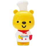 优彼(ubbie)智能启蒙益智双语学习早教机故事机0-6岁儿童玩具 百科小厨师款 亲子熊四代