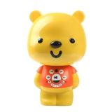 优彼(ubbie)智能启蒙益智双语学习早教机故事机0-6岁儿童玩具 优享款 亲子熊四代 橙色
