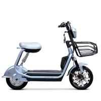 小刀电动车 48V酷炫电动自行车 舒适碟刹真空胎踏板车 优比 银兰