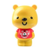 优彼(ubbie)智能启蒙益智双语学习早教机故事机0-6岁儿童玩具 优享款 亲子熊四代 红色