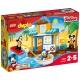 乐高 得宝系列 2岁-5岁 米奇和朋友们的海滩别墅 10827 益智 儿童 积木 玩具LEGO