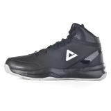 匹克(PEAK)篮球鞋运动鞋 男款减震耐磨防滑经典战靴DA054611黑色/冰川灰39