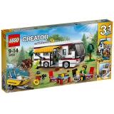 乐高 创意百变系列 9岁-14岁 度假露营车 31052 儿童 积木 玩具LEGO