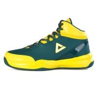 匹克(PEAK)篮球鞋运动鞋 男款减震耐磨防滑经典战靴DA054611深墨蓝/闪耀黄43