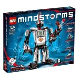 乐高(LEGO)积木 科技组MINDSTORMS EV3第三代机器人10岁+ 31313 儿童玩具 男孩女孩新年生日礼物 科技编程