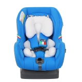 Kiwy原装进口汽车儿童安全座椅 狮子王 正反双向安装 0-4岁 坐躺睡一体宝宝椅 皇室蓝