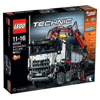 乐高 机械组 11岁-16岁 梅赛德斯-奔驰 Arocs 3245卡车 42043 儿童 积木 玩具LEGO